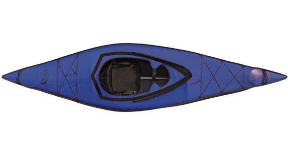 nortik scubi 1 Kajak Komplett-Set blau/schwarz
